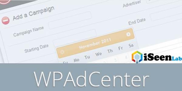 WP AdCenter Affiliate Plugin wordpress