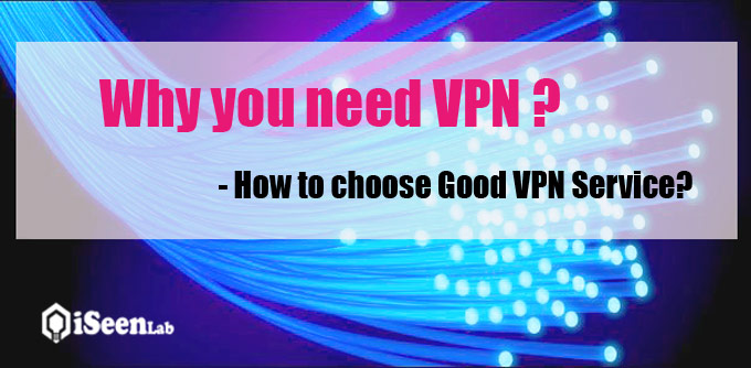 choose vpn service providers