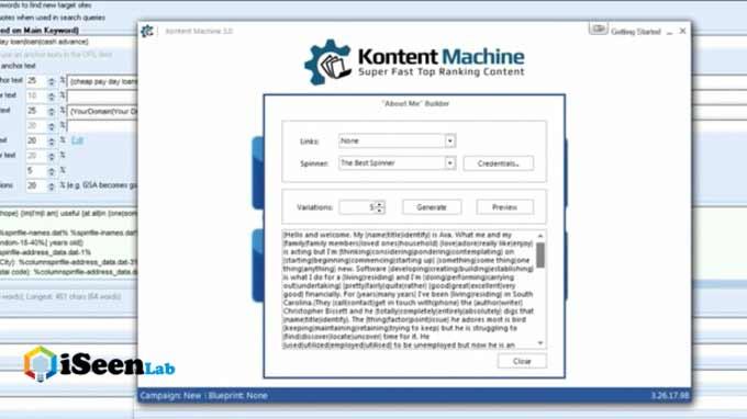 gsa seo tool kontent machine