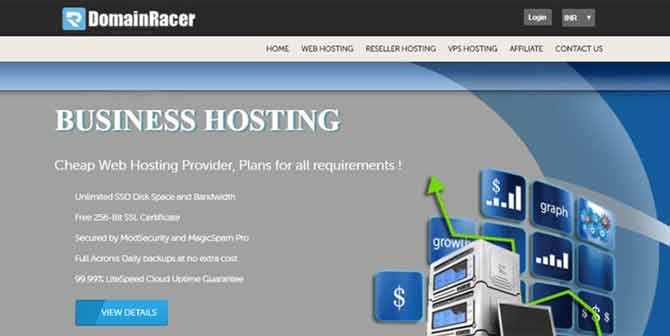cheap domain hosting website content