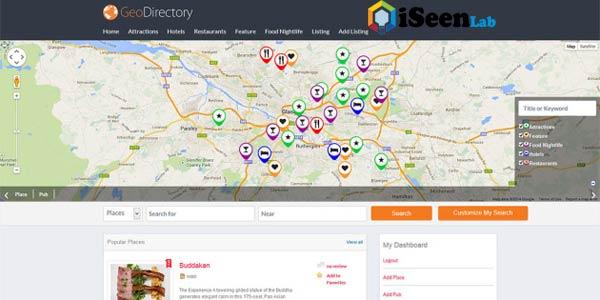 Geo wordpress directory plugin