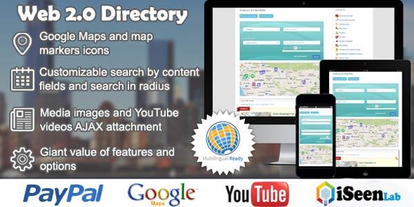 web 2.0 wordpress directory plugin