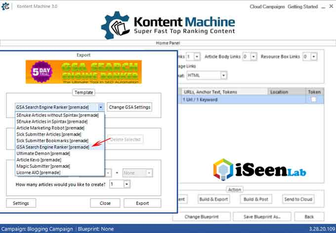 gsa kontent machine tutorial discount
